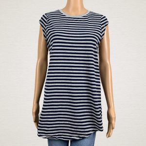 Urban Outfitters Silence Noise Stripe Tunic Shirt